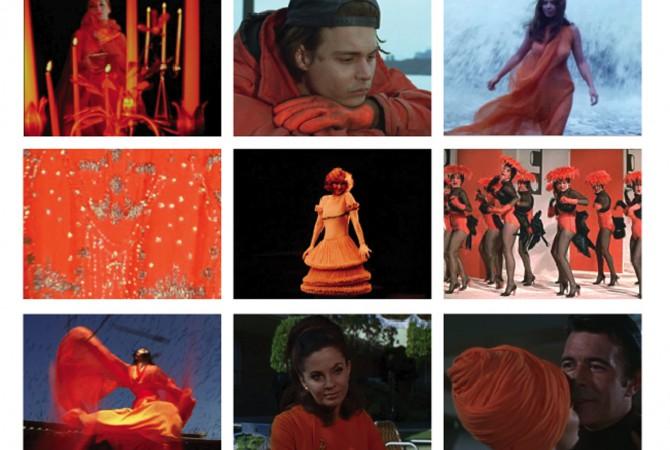 Fashion-Colour-Cinema Inventory. Courtesy of Fashion in Film Festival.