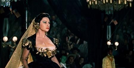 Martine Carol inÊMax OphŸls' LOLA MONTéS (1955). Credit: Rial